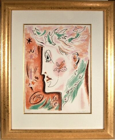 André Masson, 'Surrealist Woman', 1970