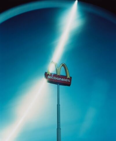 Ken Kitano, 'A signboard of Mc Donald's from the 'Day Light' works', 2013