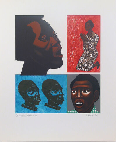 Elizabeth Catlett, 'Singing their Songs', 1992