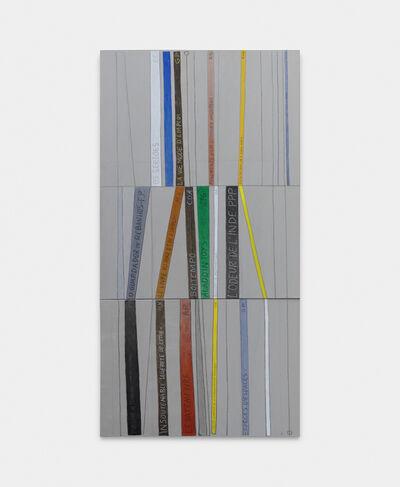 Julio Villani, 'bibliothèque', 2019