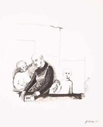 Emilia Gutiérrez, 'La radio en la villa', 1973