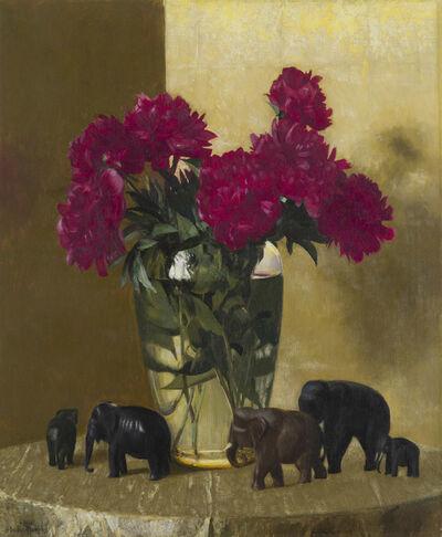 Hermann Dudley Murphy, 'Peonies and Elephants', 1941