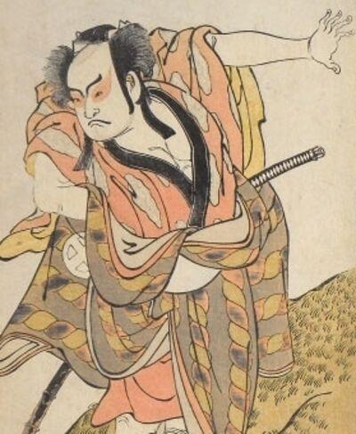 Katsukawa Shunko, 'Otani Hiroji III as Hataemon (?)', ca. 1788