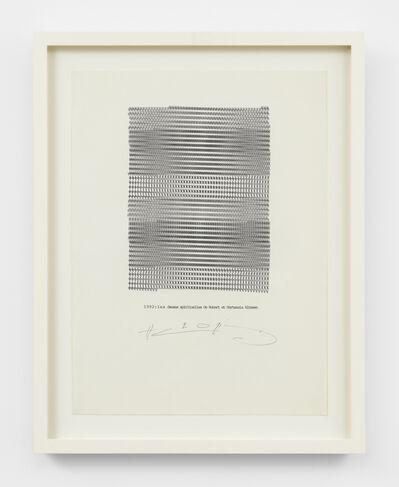 Henri Chopin, 'Les danses spirituelles', 1992