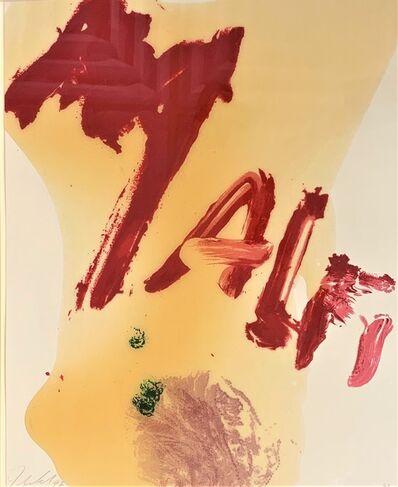 Julian Schnabel, 'Malfi', 1996
