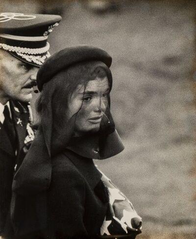 Elliott Erwitt, 'Jacqueline Kennedy, Arlington Cemetery', 1963