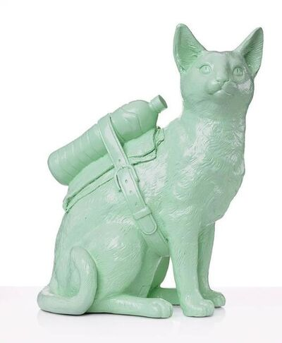 William Sweetlove, 'Cloned Cat with Petbottle', 2019
