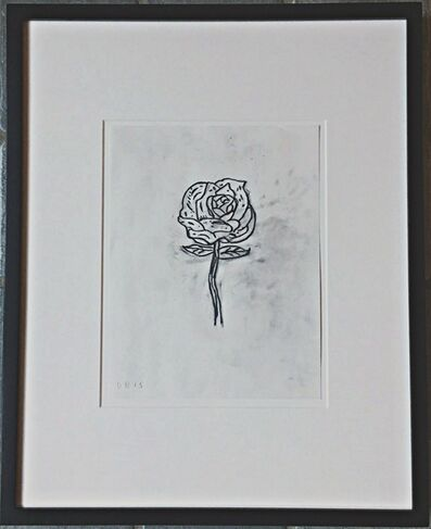 Donald Baechler, 'Untitled (Rose)', 2015
