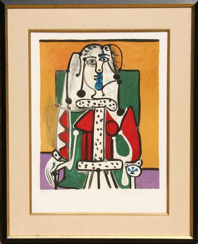 Pablo Picasso, 'Femme Assise a la Robe d'Hermine', 1973
