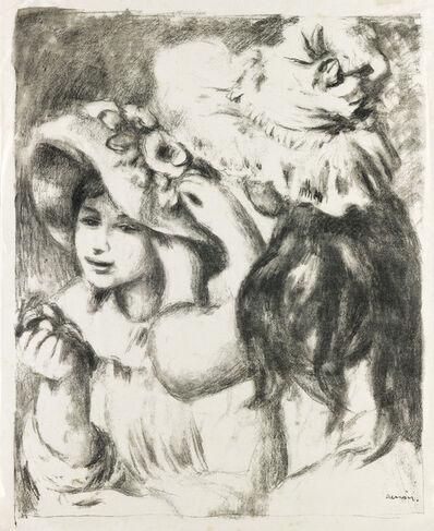 Pierre-Auguste Renoir, 'Le Chapeau Épinglé (2e planche).', 1897