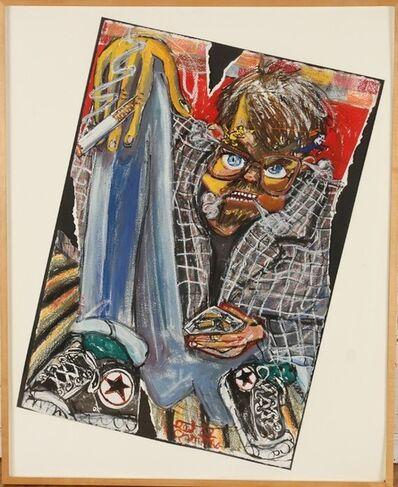 Red Grooms, 'The Cartoonist', ca. 1981