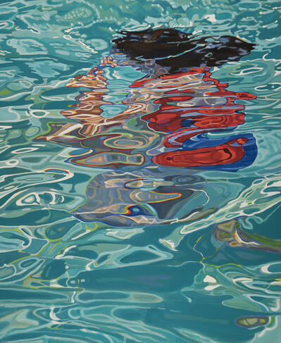 Claudia Waters, 'Big Merge/Submerge (for A. and J.)', 2019