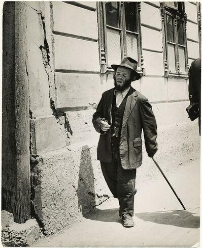 Roman Vishniac, 'A Fool of Novgorod', 1936