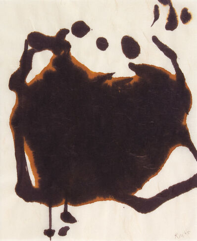 Robert Motherwell, 'LYRIC SUITE', 1965
