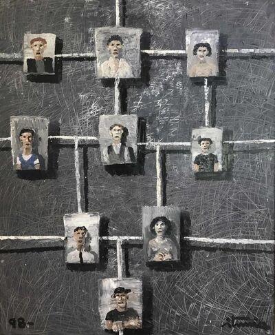 """Ignacio Iturria, '""""Conexiones""""', 1998"""