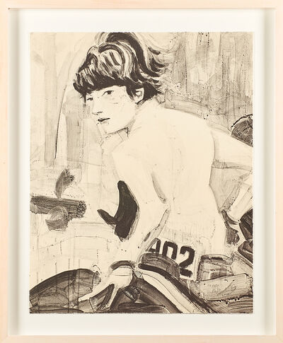 Elizabeth Peyton, 'John (John F. Kennedy Jr. on Horseback', 2000