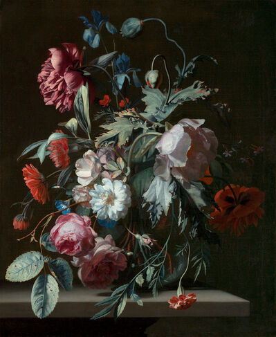 Simon Pietersz. Verelst, 'A Flowerpiece'