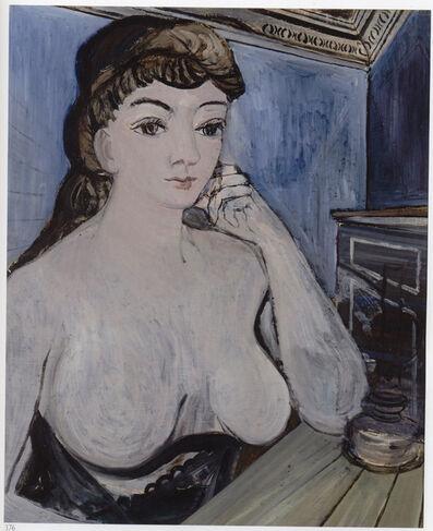 Paul Delvaux, 'Femme à la lampe', 1944