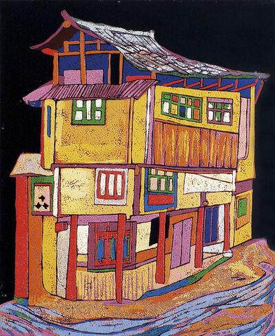 Chen Li, 'A Colourful Village House I', 2001