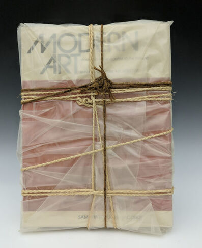 Christo, 'Wrapped Book (Modern Art )', 1978