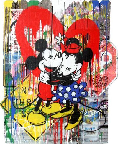Mr. Brainwash, 'MICKEY & MINNIE', 2018