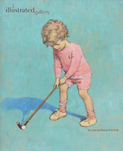JESSIE WILLCOX SMITH, 'Good Housekeeping Cover, The Little Golfer', 1928