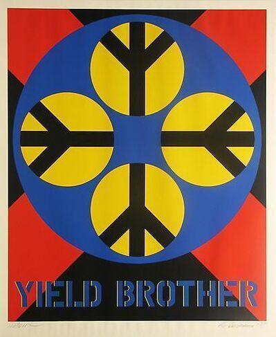 Robert Indiana, 'Yield Brother', 1971