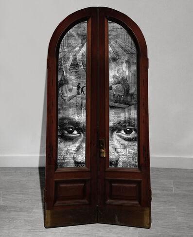 Shai Kremer, 'GENTRIFICATION: Door #2: Bedford-Stuyvesant and Bushwick, Racial tensions. 2016 ', 2016