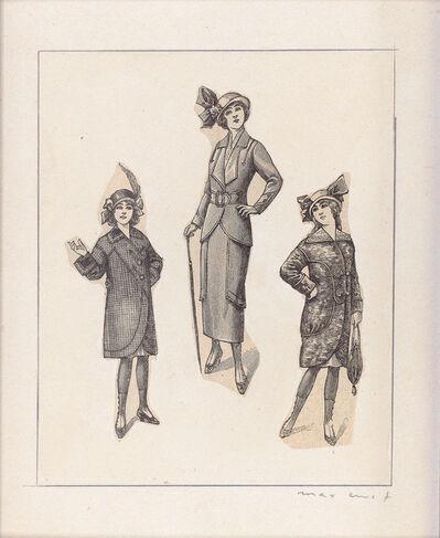 Max Ernst, 'Une Gouvernante et Deux Demoiselles', 1972