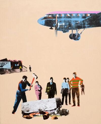 Amin Roshan, 'Arena for oil', 2013