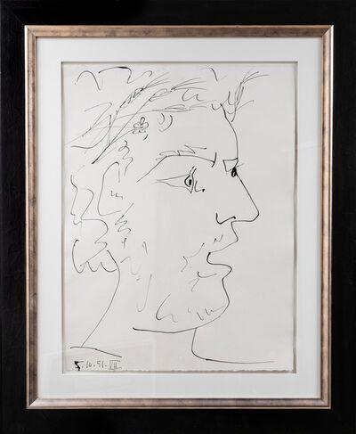 Pablo Picasso, 'Tête de Guerrier Pacifiste', 1951