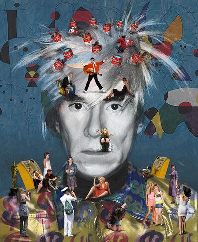 Lluis Barba, 'Self-Portrait, Warhol', 2011