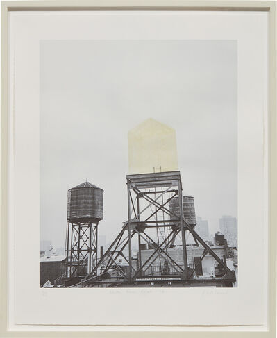 Rachel Whiteread, 'Water Tower Project', 1998