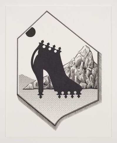 Saul Chernick, 'Black Heel', 2015
