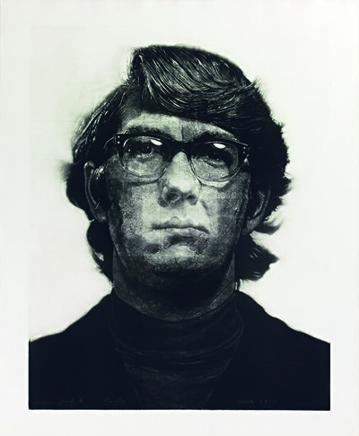 Chuck Close, 'Keith / Mezzotint', 1972