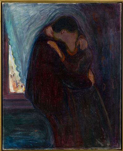 Edvard Munch, 'Kyss (Kiss)', 1897