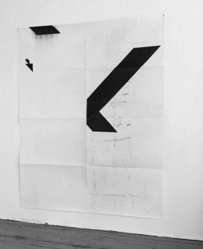 Wade Guyton, 'X Poster (Untitled, 2008,WG2001) ', 2016