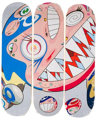Takashi Murakami, 'Takashi Murakami DOB Skateboard Decks (Set of 3 Murakami skate decks)', 2018