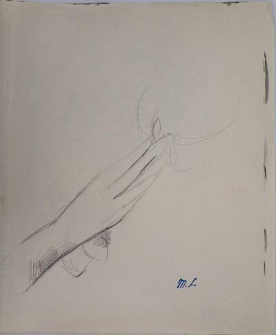 Marie Laurencin, 'Hand offering a flower', 1953