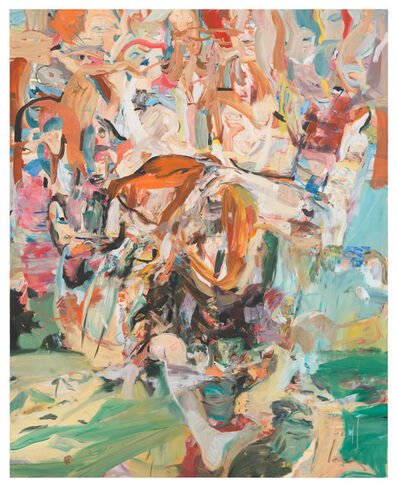 Cecily Brown, 'Combing the Hair (Outside)', 2014
