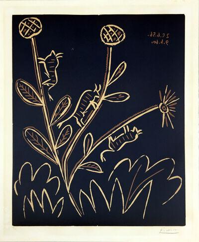Pablo Picasso, 'Plante aux Toritos', 1959