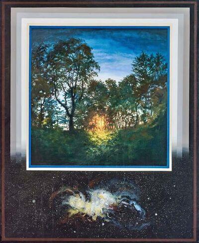 Ian Hornak, 'Sunrise Through Forest, Spiral Nebula ', April 1970