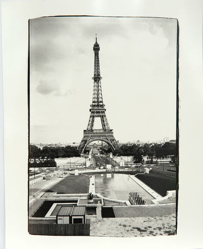 Andy Warhol, 'Andy Warhol, Photograph of Eiffel Tower in Paris, 1980s', 1980s