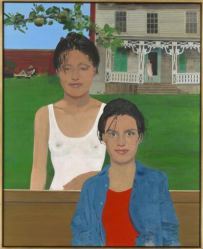 Peter Blake, 'The Twins in their Tea Garden', 1991