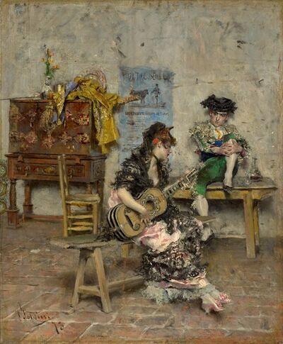 Giovanni Boldini, 'Guitar Player', 1872