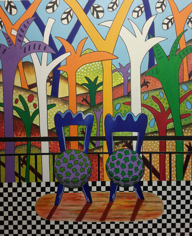 Nihat Kemankaşlı, 'Balcony I', 2015