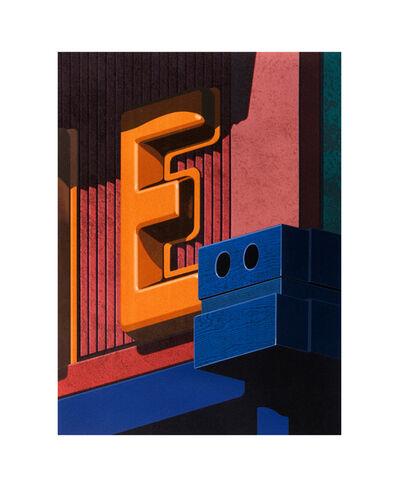 Robert Cottingham, 'An American Alphabet: E', 2008