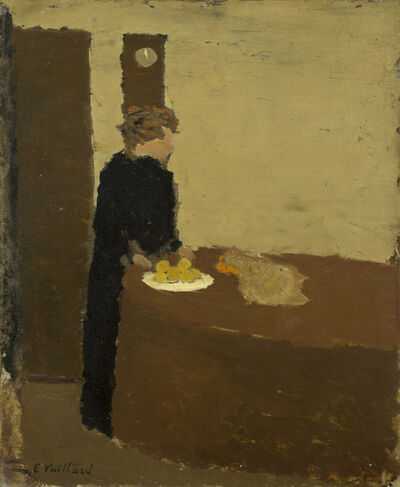 Édouard Vuillard, 'Woman in Black', ca. 1891