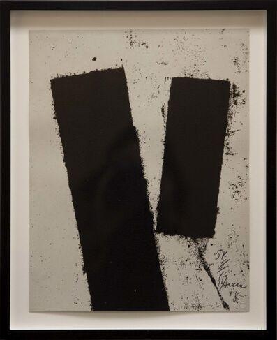 Richard Serra, 'Promenade Notebook Drawing for Obama', 2008