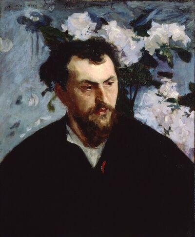 John Singer Sargent, 'Ernest-Ange Duez', ca. 1884